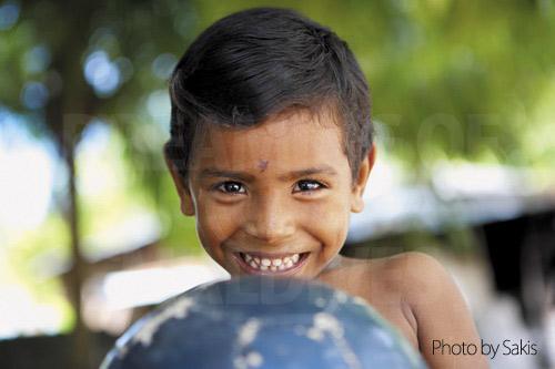 Enfant des maldives