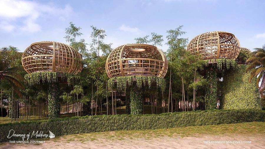 10 lieux extraordinaires Maldives Terra restaurant Waldorf Astoria Ithaafushi