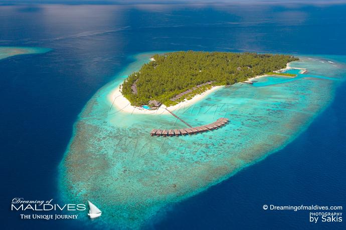 Filitheyo Maldives Maldives meilleur Hotel pour le Snorkeling .Vue Aérienne