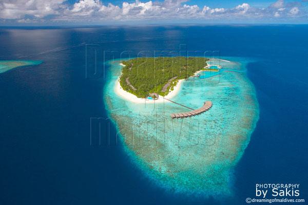 Filitheyo Island Resort Maldives photo aérienne
