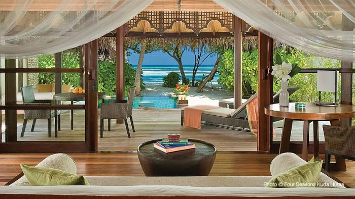 Four Seasons Kuda Huraa Maldives TOP 10 meilleurs Hôtels des Maldives 2014
