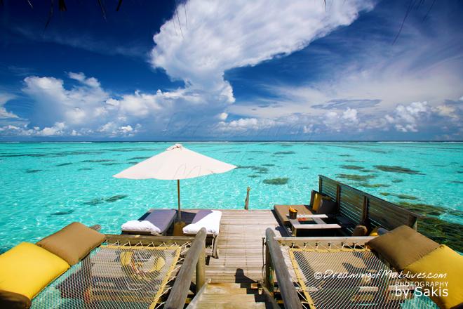 Gili Lankanfushi Maldives meilleure villa sur pilotis maldives
