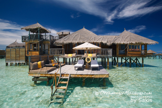Les Water Villas, tout simplement superbes - Gili Lankanfushi Maldives