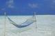 Hamac dans un lagon des Maldives
