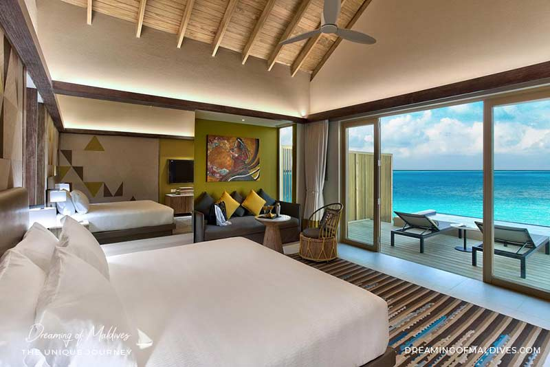 Ouverture Hotel Hard Rock Hotel Maldives