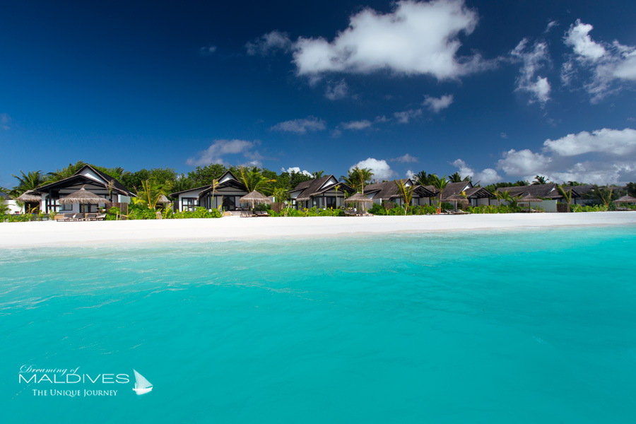Ozen at Maadhoo Maldives. Les Villas sur Plage Earth Villas