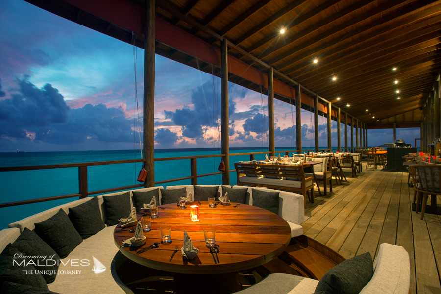Ozen at Maadhoo Maldives. Peking Le restaurant Chinois