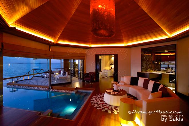 Huvafen Fushi Maldives meilleure villa sur pilotis maldives