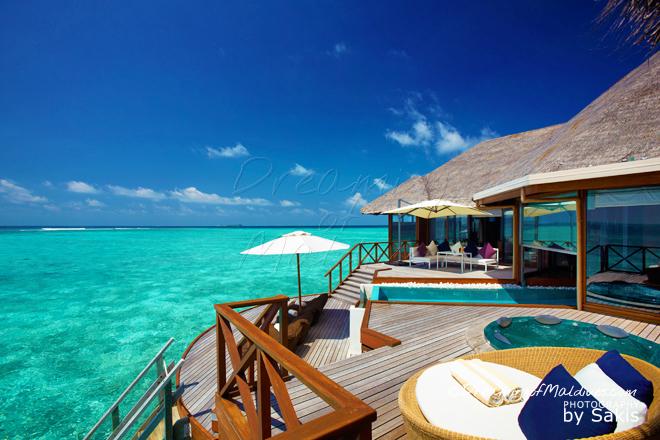 Huvafen Fushi meilleure villa sur pilotis maldives