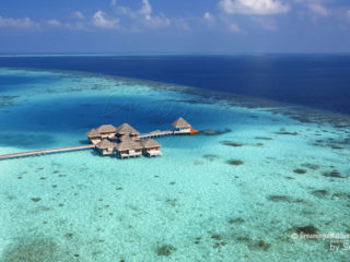 Huvafen Fushi Maldives Photo aerienne