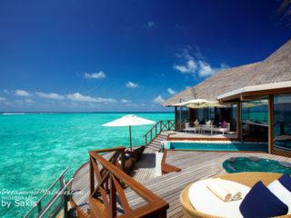 Water Villa Huvafen Fushi Maldives - Ocean Pavilion