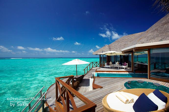 Photo Du Jour : Une Water Villa de Rêve à Huvafen Fushi Maldives