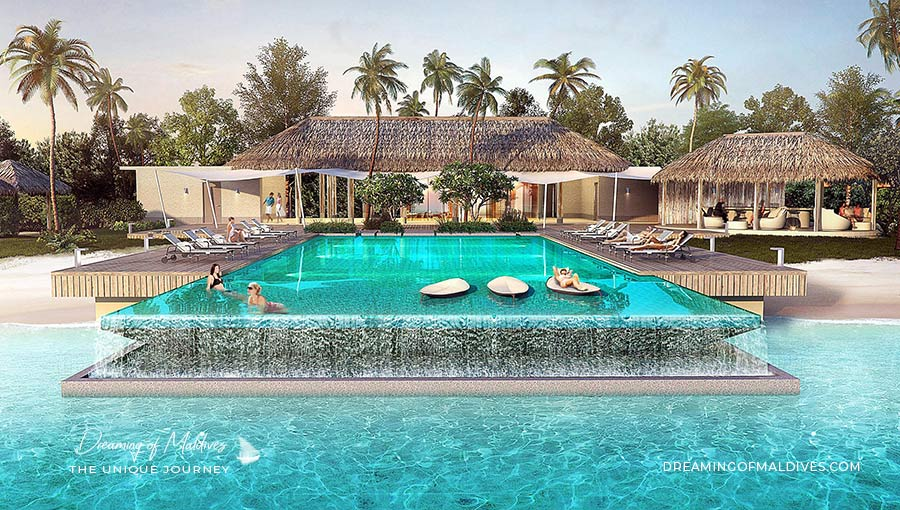 Ouverture Hotel InterContinental Maldives Maamunagau ( Atoll de Raa ). Ouverture en Juin 2019