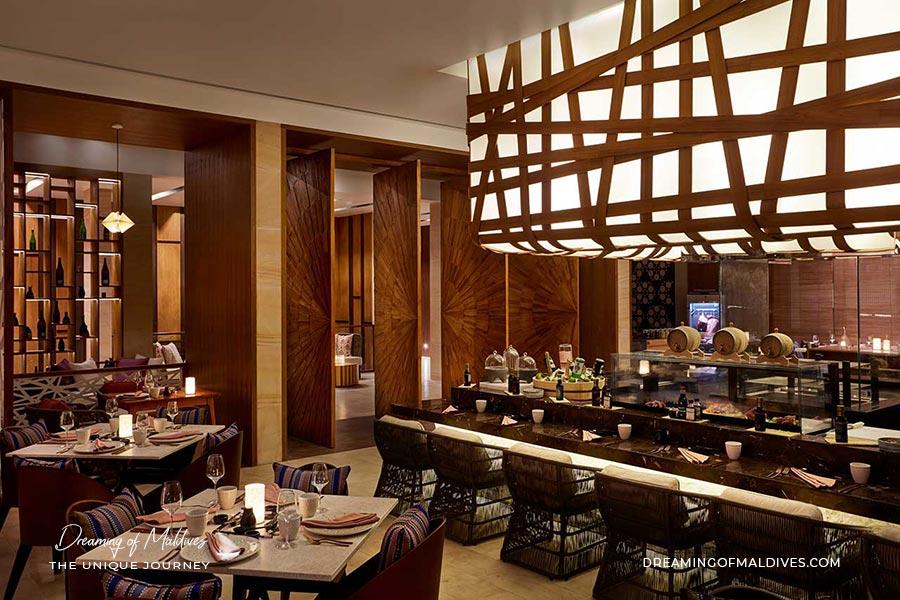Inti restaurant péruvien et japonais LUX North Male