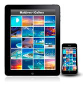 Les Maldives sur iPhones et iPads