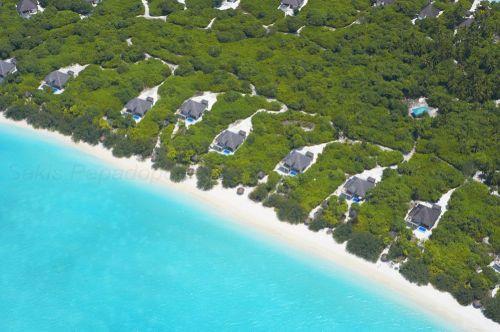 Island Hideaway Maldives | Photo aérienne © Sakis Papadopoulos