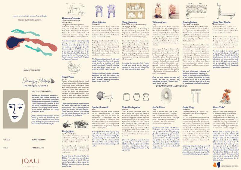 10 Lieux Extraordinaires À Voir Aux Maldives Joali exposition art