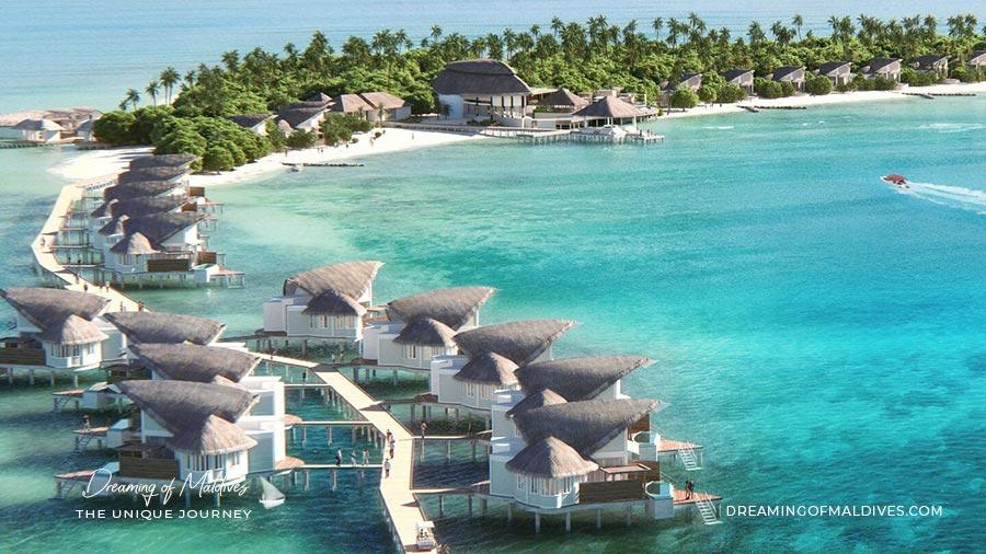 Ouverture Hotel JW Marriott Maldives ( Atoll de Shaviyani ) Ouverture en Juillet / Août 2019