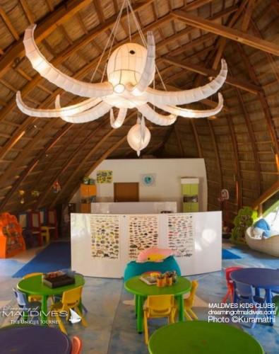 kuramathi maldives hotel famille maldives club enfants