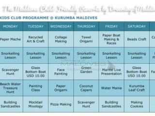 Le Programme et les activités du club-enfant à  Kurumba