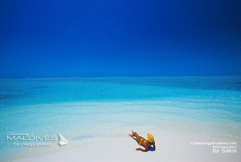 L'Art de ne Rien Faire en Photos et citations. Photo Maldives et Hamacs