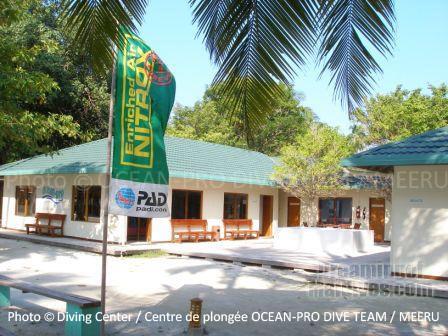 Le Centre de Plongée Ocean-Pro à Meeru - Maldives