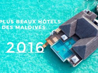 Galerie de Photos des Plus Beaux Hôtels des Maldives