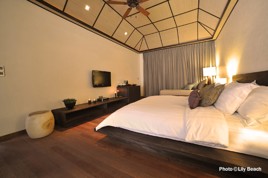 Lily Beach Maldives - Chambre d'une Beach Villa