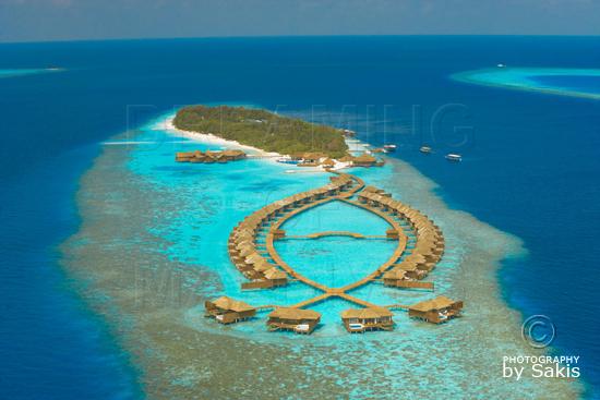 Lily Beach Maldives - Photo Aérienne de l'ile