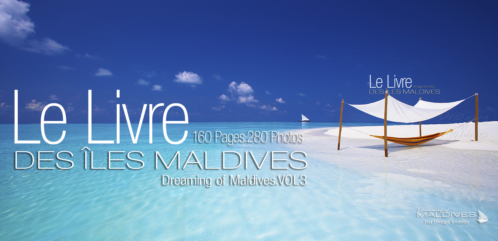 Livre de Photos des Îles Maldives Dreaming of Maldives