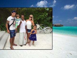 Luiz Suarez sur une Ile de Luxe pour ses vacances- Hotel Maldives