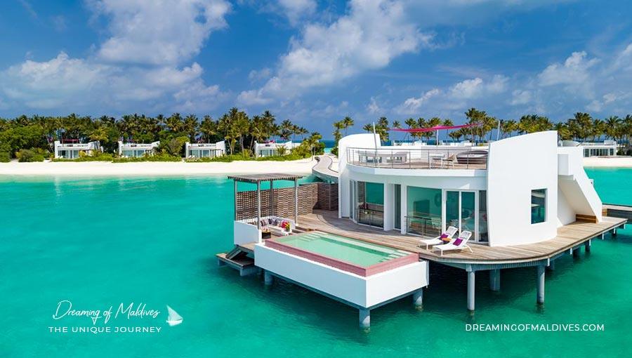 LUX North Male Maldives penthouse villa