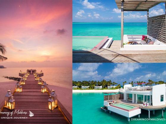 Visite et Photos de LUX* North Male Atoll Maldives