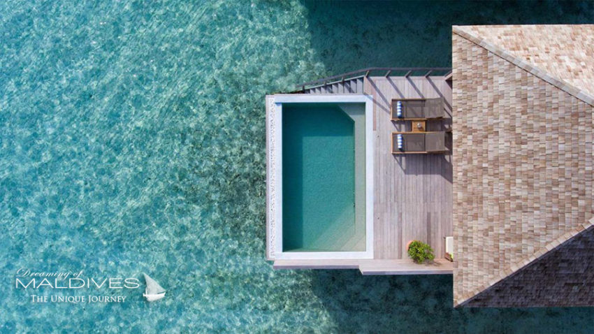 Hurawalhi Maldives Villa pilotis Water Villa