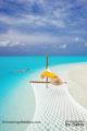 Photo du jour . Les Maldives, Moi et le Bleu. Plus rien n'a d'importance