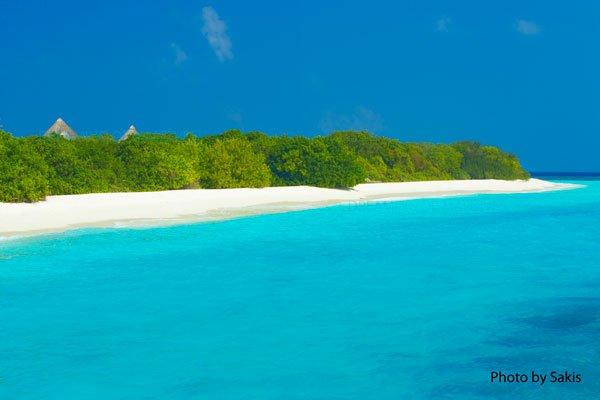 Photo du Jour : pour vivre heureux...vivons cachés aux Maldives !