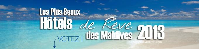 Votez pour votre Meilleur Hôtel des Maldives 2013