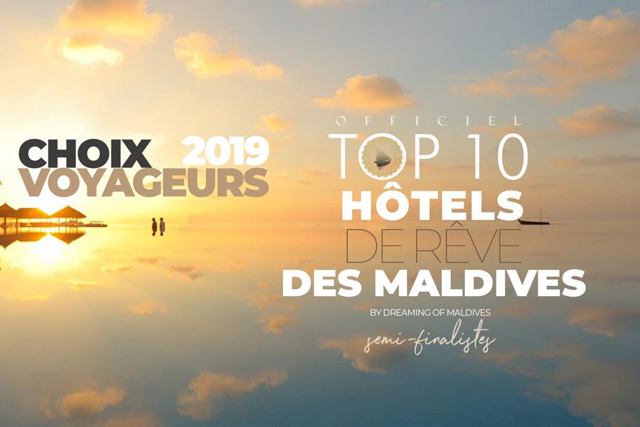 Meilleurs Hôtels des Maldives 2019 semi finalistes