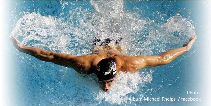 Michael Phelps aux Maldives