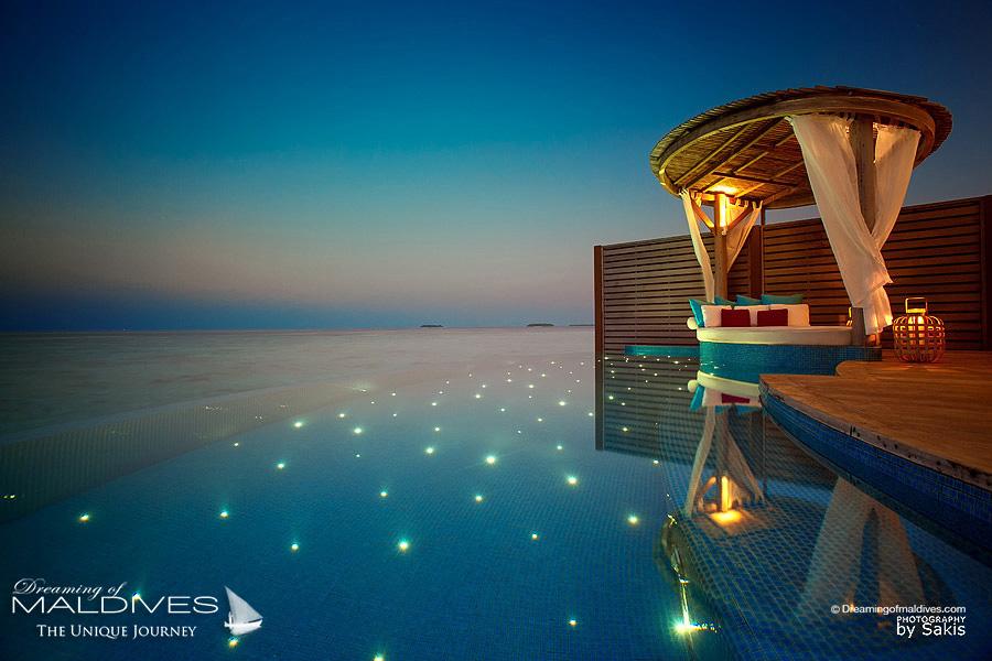 les Villas les plus sexy pour un sejour romantique aux maldives. Milaidhoo