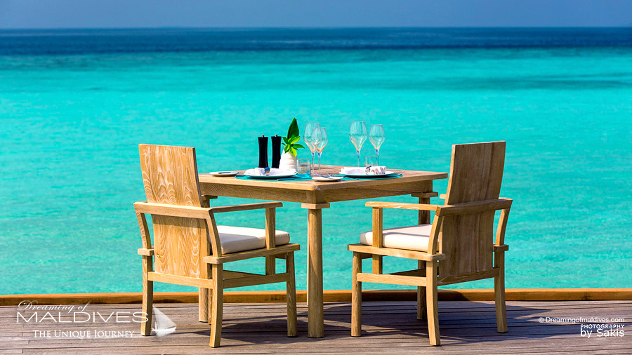 Milaidhoo Déjeuner au Restaurant Ocean