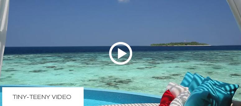 La petite Vidéo du Jour. Milaidhoo. Vue depuis la Terrasse d'une Villa Sur Pilotis
