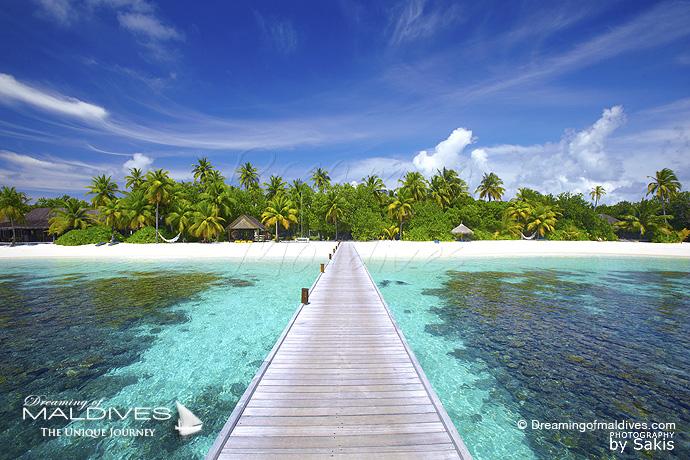 Mirihi Maldives meilleur Hotel pour le Snorkeling .Récifs de corail de l'ile