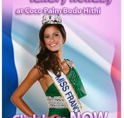 miss france 2011 Maldives Coco Palm Bodu Hithi