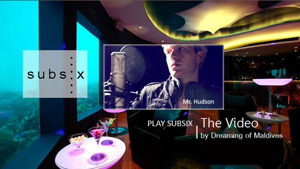 Mr Hudson Live à Subsix, la discothèque sous-marine de Niyama Maldives
