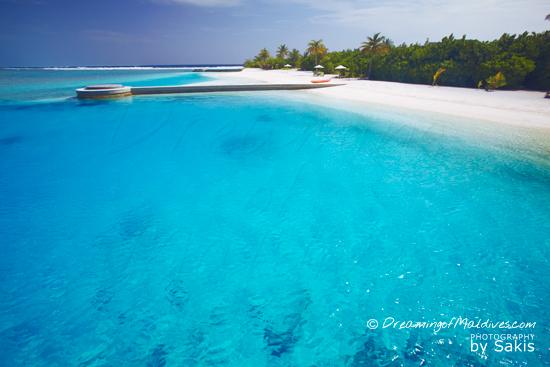 Galerie de Photos Naladhu Maldives - Cote Lagon