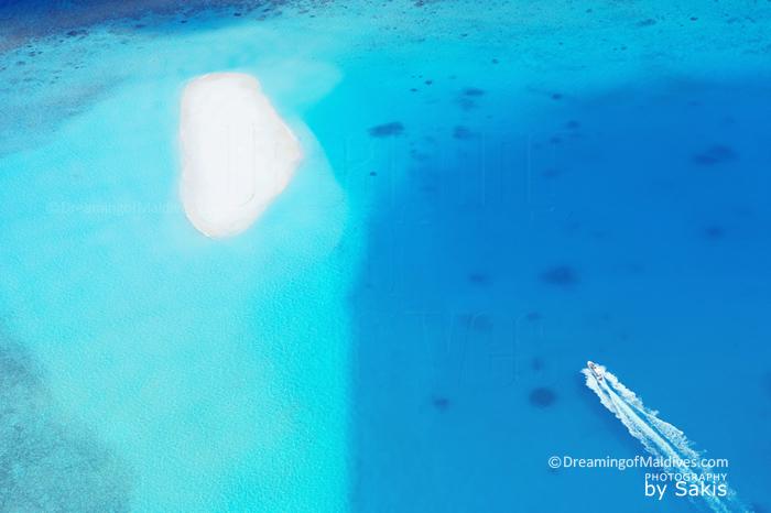 Nouvel aéroport dans l'Atoll de Gaafu Alifu, Sud Maldives pour des transfers plus rapides vers les iles-hotels