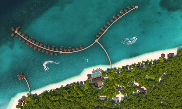 Pullman Maamutaa Maldives par Accor