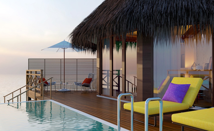 Mercure Kooddoo par Accor aux Maldives en 2016