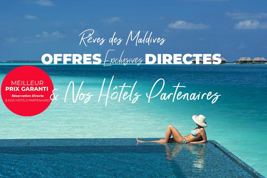 offres de rêve aux Maldives